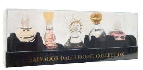 Salvador Dali Legend Collection Coffret Mini Set, 5 Count by Salvador Dali. Save 58 Off!. $23.95. Mini set. This item is not a tester. 5 pieces. Dali collection by salvador dali 5 x. 17 ounce mini set.