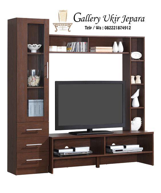 Lemari Kabinet Tv Minimalis Merupakan Inovasi Terbaru Dari Rak Tv Yang Dibuat Seperti Model Lemari Agar Mempu Wall Tv Unit Design Tv Unit Design Tv Room Design