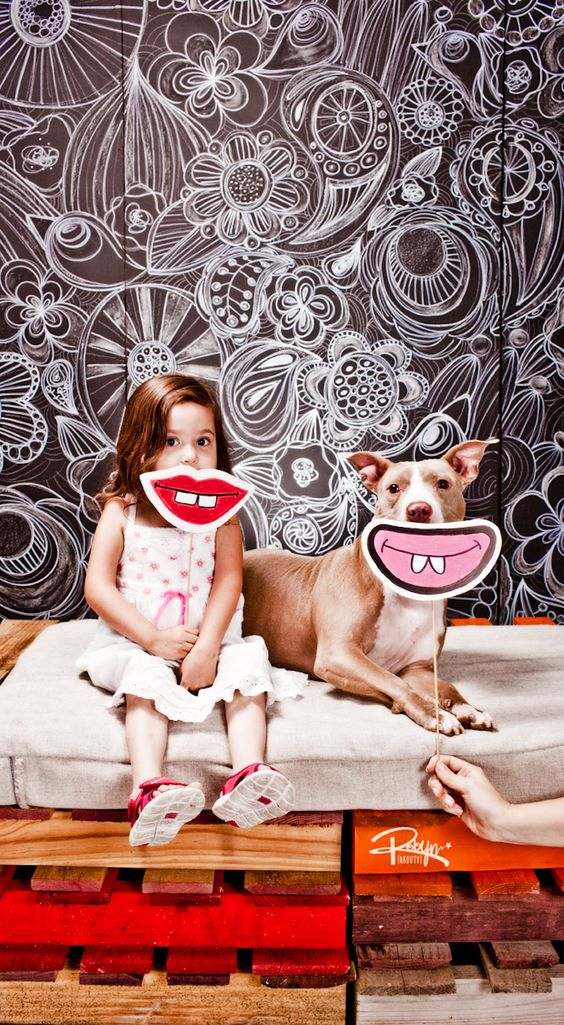 Pit bull LOVE! by Robyn Arouty.