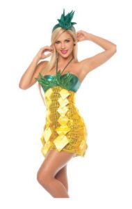 yellow dress for pineapple costume universe