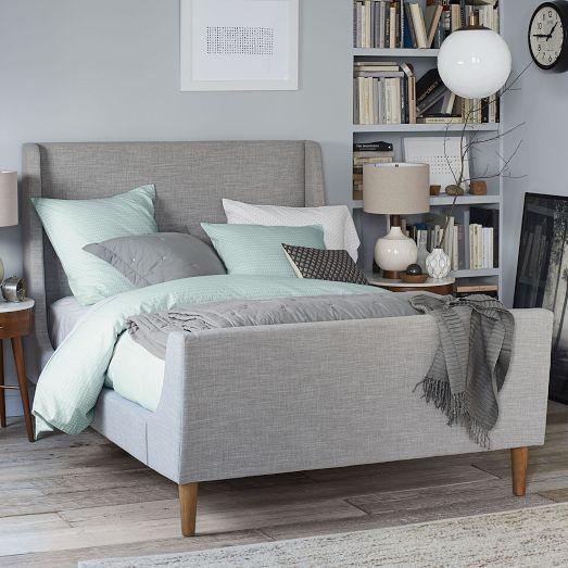 Upholstered Sleigh Bed Set | west elm