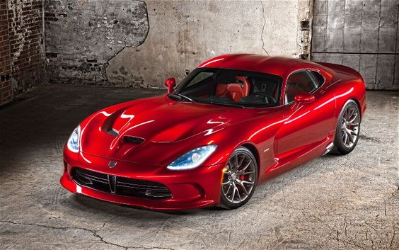 The new SRT Viper is a car that defines Kick Ass cars.
