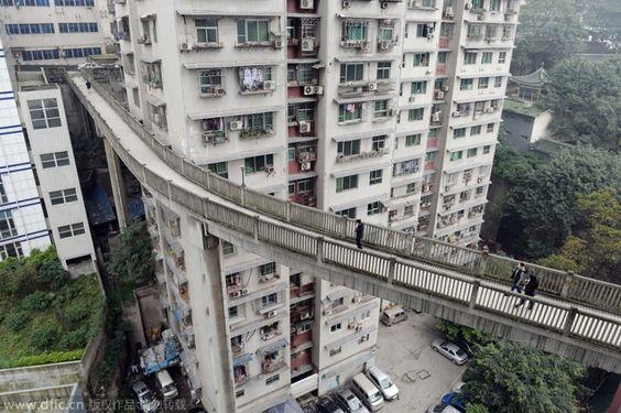 Passerelle à Chongqing