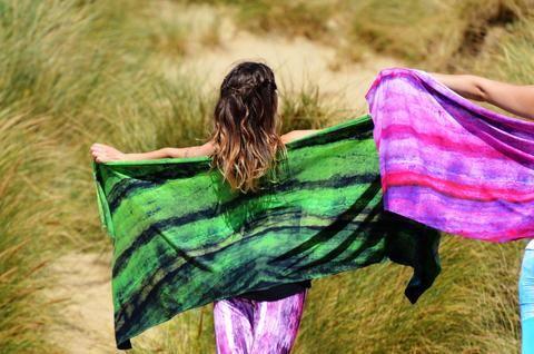 Era 100% organic bamboo scarf by The Ananda Tree