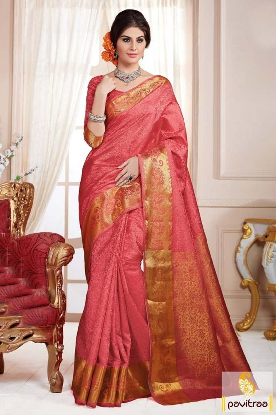 Enjoy the royalty of silk sarees with Saree Exotica tomato unique design art silk sarees online collection. Lets you feel like royalty in the comfortable of art silk printed saree. #saree, #sari, #silksareeonline, #artsilksarees, #designersaree,  #sareewithblouse, #sarees,   #sareeonline, #Indiansaree,  #sareecollection,  #buysareeonline,   #fashionsaree, #latestsaree,  #valentinegift  More:  http://www.pavitraa.in/store/casual-saree/ Any Query:	 Call Us:+91-7698234040