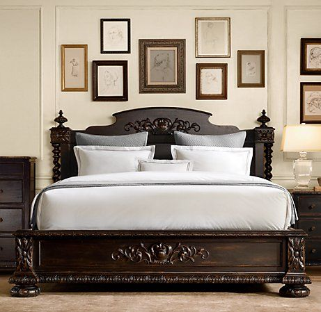 My dream bed from Restoration Hardware