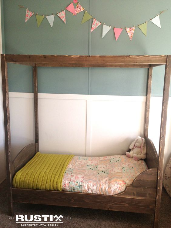 Toddler Bed Do It Yourself Home Projects From Ana White Diy Bloggers To Follow Pinterest