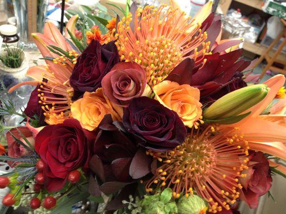 Beautiful fall bridal bouquet @ the Dutch Tulip #bridal #fallwedding Columbiana ohio 330.482.2909