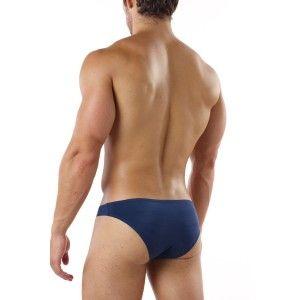 (Cover Male Bikini Navy) Sexy bikini fit with fabric that ...