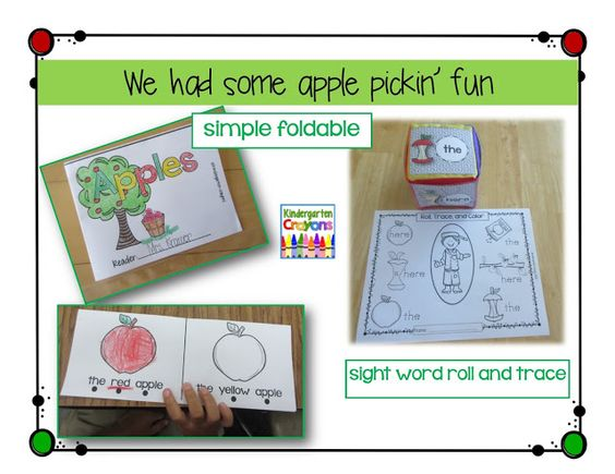 Kindergarten Crayons
