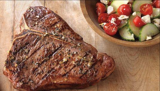 Certified Hereford Beef T-Bone Steaks - (6) 16oz