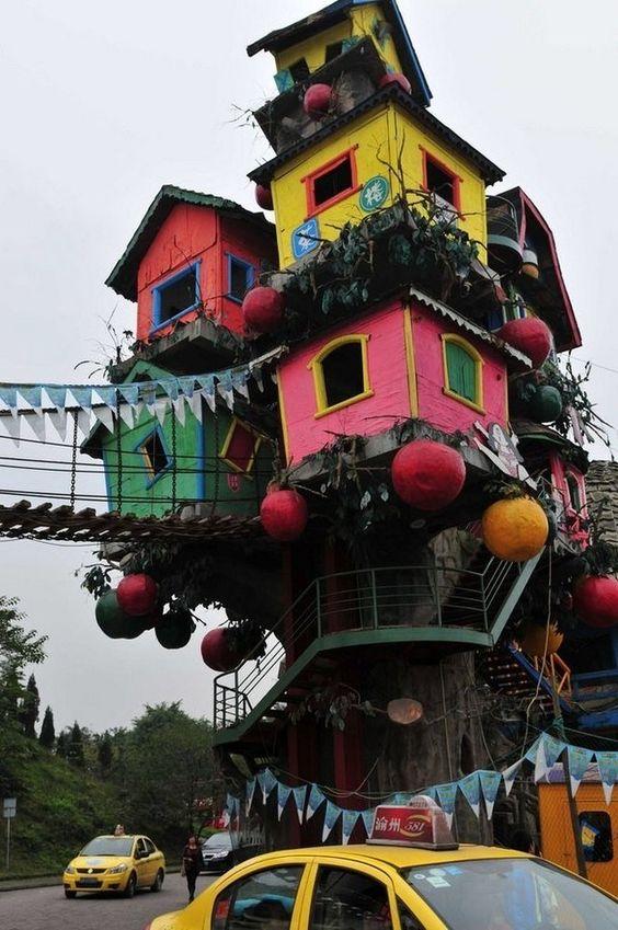 10 dos edifícios mais estranhos que existem na China - Mega Curioso