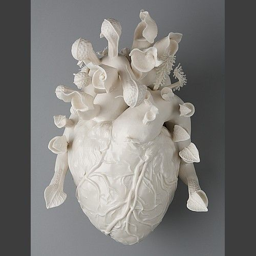 Wow. Heart sculpture by?