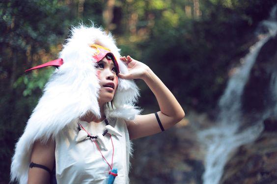 Mononoke Hime_ San cosplay