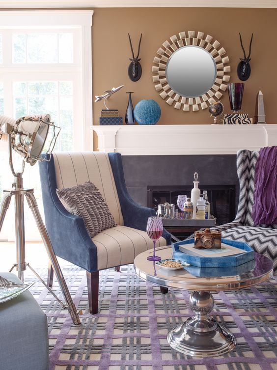 Decorative Matching Living Room: The Sky Is The Limit When You Love To Mix And Match