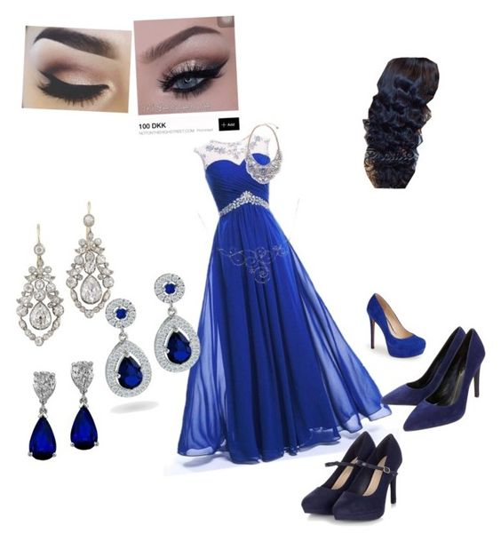 """""""Beautyful party dress!"""" by meenussaks on Polyvore featuring beauty, Jessica Simpson, Lola Cruz and Bling Jewelry"""
