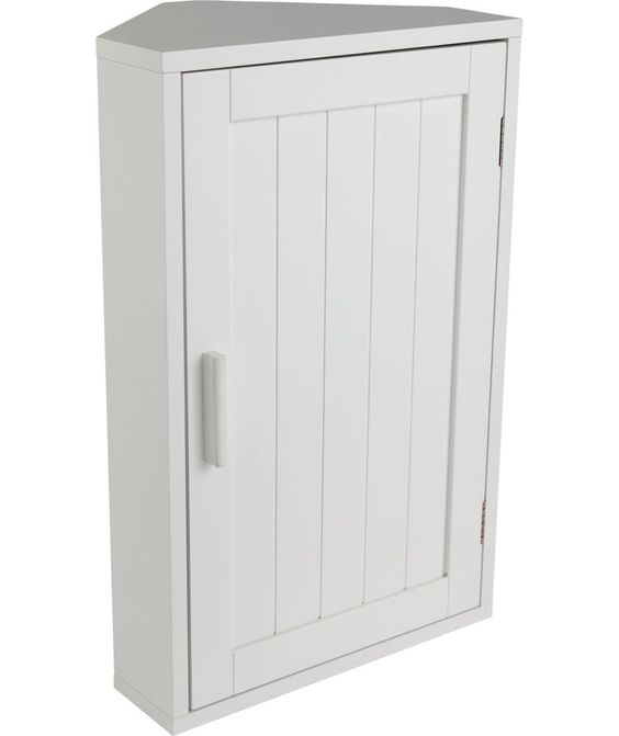 Buy Wooden Corner Bathroom Cabinet - White at Argos.co.uk - Your Online Shop for Bathroom cabinets.