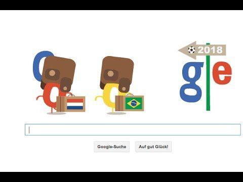 Google Doodle: Holland Brasilien packen schon mal die Koffer
