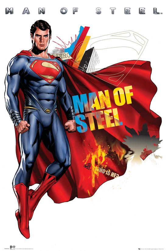 Posters de la película Man of Steel #2