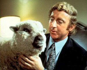 Image result for gene wilder sheep silent take