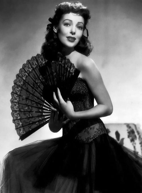 "classic-hollywood-glam: "" Loretta Young """