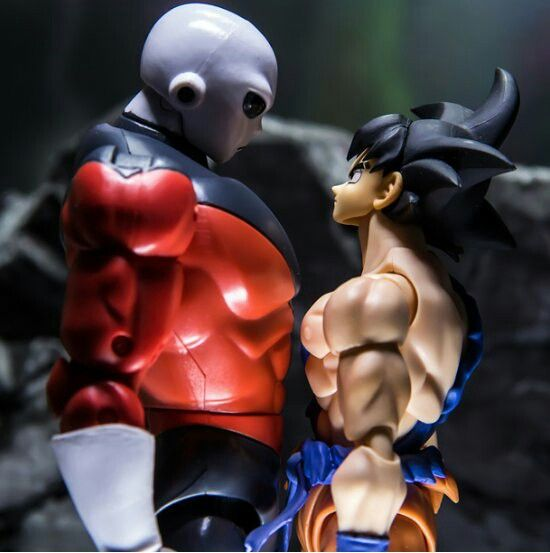 Goku And Jiren Faceoff Dragon Ball Ball Goku