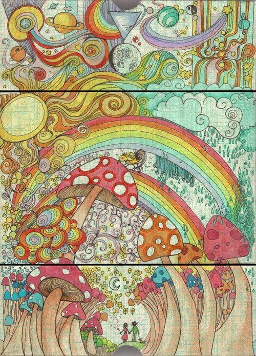 Gallery For gt Trippy Shroom Drawing Ideas