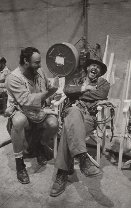 Harrison Ford, John Rhys-Davies