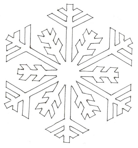 winter cut out coloring pages - photo#39