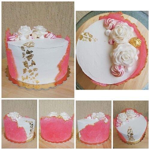 Sugar Sheet Technique Jak Zrobic Cukrowa Ozdobe Na Tort Cake It Sugar Sheets Cake Vanilla Cake