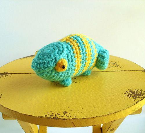 Amigurumi Chameleon Pattern : Spectrum the chameleon amigurumi pattern by Bluephone ...