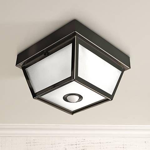 Benson Black 9 1 2 Wide Motion Sensor Outdoor Ceiling Light H7013 Lamps Plus Outdoor Ceiling Lights Ceiling Lights Motion Sensor Lights Outdoor Motion sensor ceiling light fixture