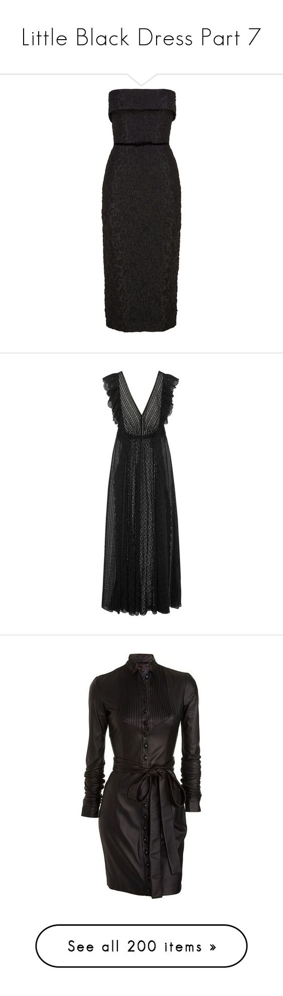 """Little Black Dress Part 7"" by leanne-mcclean ❤ liked on Polyvore featuring dresses, dresses/gowns, black, slim fit dress, strapless dresses, bow dress, flower print dress, strapless floral dress, chiffon dresses and maxi dresses"