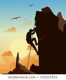 Pin En Escalada En Roca