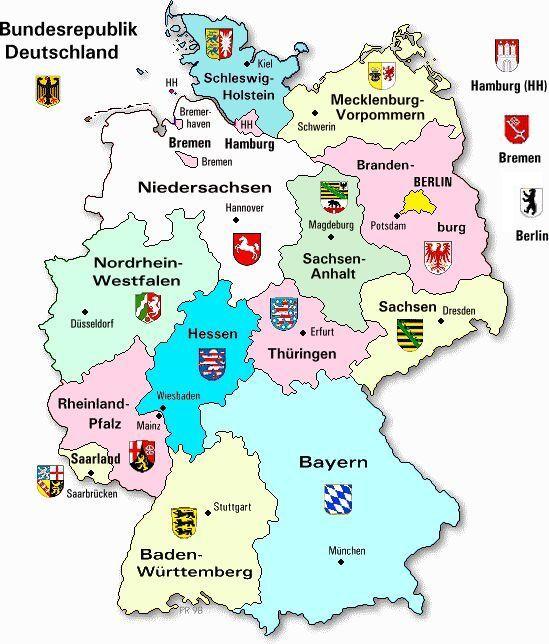 erdkunde deutschland karte die GeoBine: Erdkunde für Kinder  good site on Ta   #die