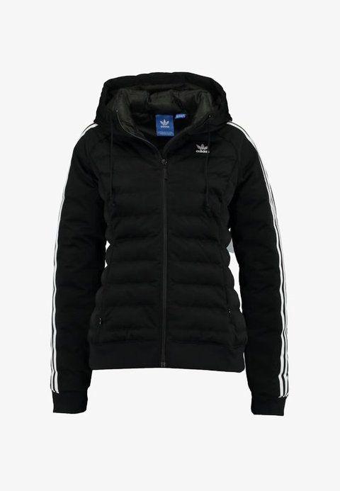 adidas Originals SLIM JACKET - Chaqueta de invierno - black ...