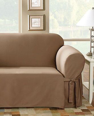 Sure Fit Slipcovers Duck Furniture Covers Slipcovers