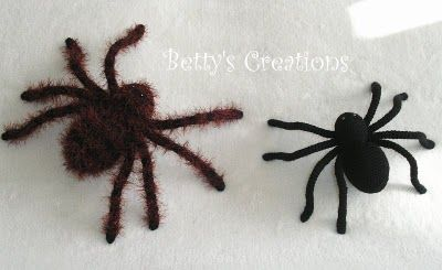 TARANTULA with instructions: Crochet Projects, Amigurumi Food, Crochet Amigurumi, Crochet Tarantula, Creations Tarantula, Play Amigurumi