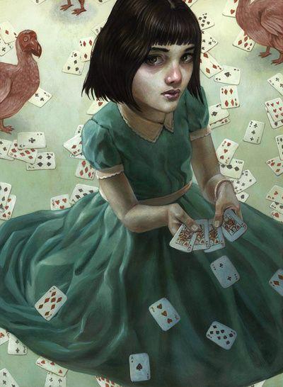 Alicia en el País de les Meravelles, il·lustració d'Casey Weldon