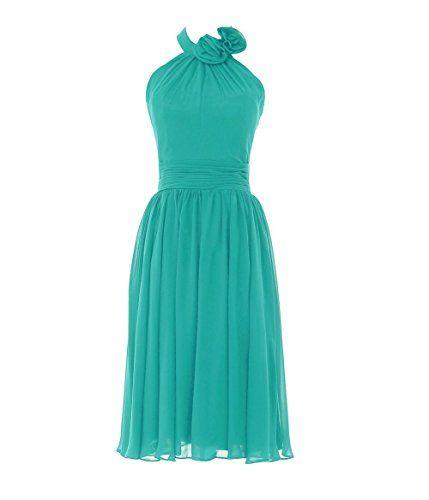 YiYaDawn Kurzes Neckholder Kleid Cocktailkleid Brautjungfernkleid für Damen Größe 38 EU Türkis YiYaDawn http://www.amazon.de/dp/B00YSP95ZE/ref=cm_sw_r_pi_dp_Giuuwb1TZGE8A