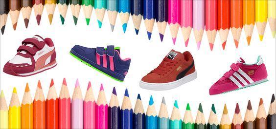 Kids shoes! Puma & Adidas