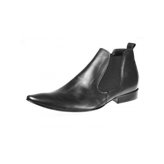 Pánske členkové topánky čierne - fashionday.eu