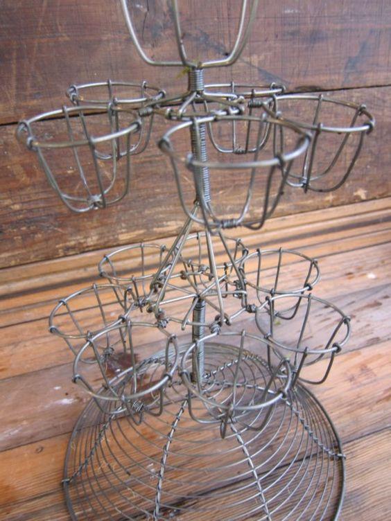 Countertop Egg Holder : dream countertop countertop decor baskets holders egg holders egg ...