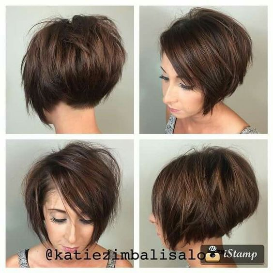 40 Most Flattering Bob Hairstyles For Round Faces 2021 Hairstyles Weekly Hair Styles 2017 Thick Hair Styles Short Hair Styles