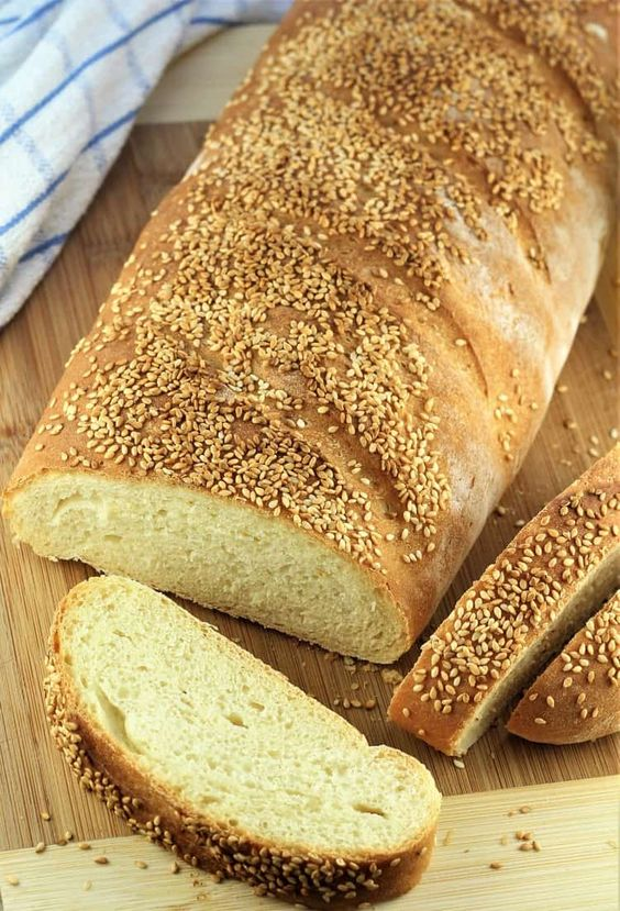 Semolina Bread Recipes with Sesame Seeds