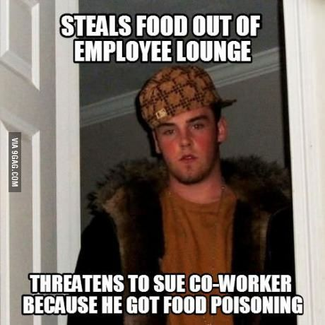Meet my wife's co-worker, everyone.