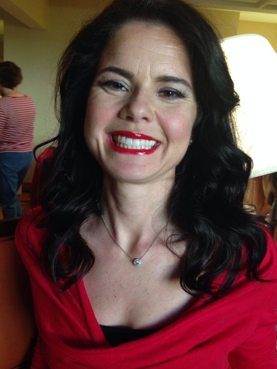 Makeup - San Diego Go Red Luncheon Fashion show - she's a survivor