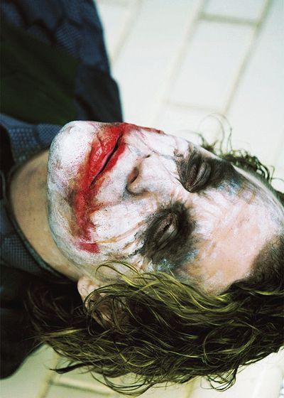 "Heath Ledger in ""The Dark Knight"" (2008)"