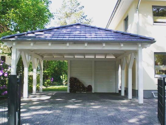 Carport Garage Kombination Holz carport garage kombination holz cheap stahlgarage mit with carport