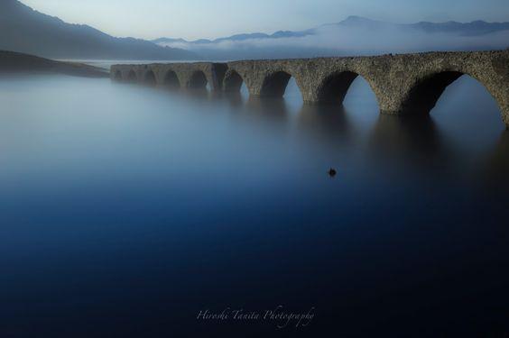 """Photo of タウシュベツ橋梁 """"silence"""" in Kamishihoro, Hokkaido, Japan"""